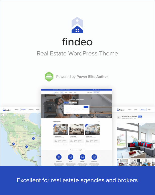 WordPress theme Findeo - Real Estate WordPress Theme (Real Estate)