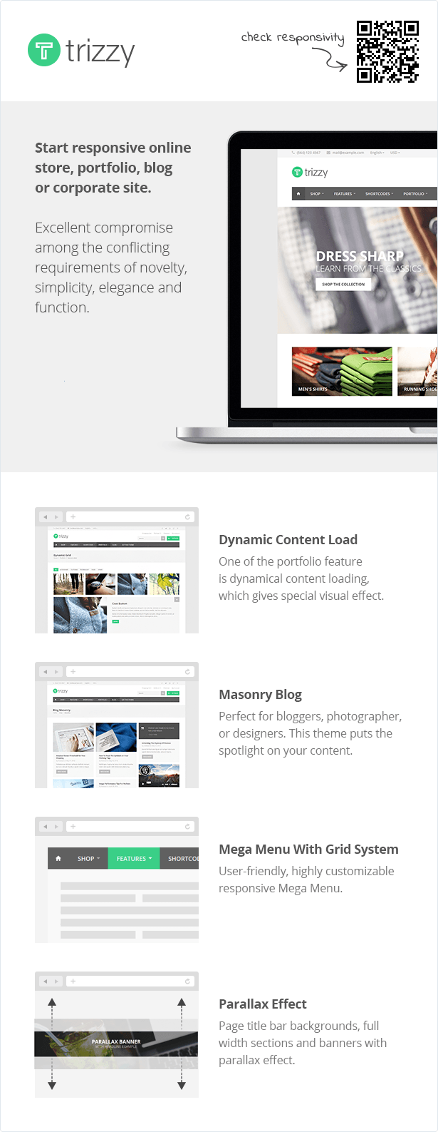 Trizzy - Multi-Purpose eCommerce HTML Template
